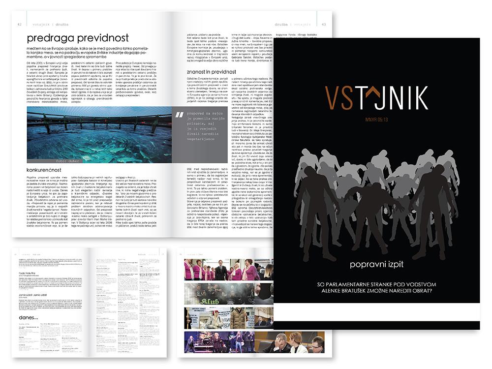 political magazine Vstajnik